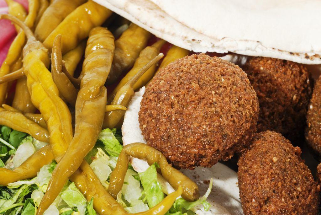 Falafel a la manera siria